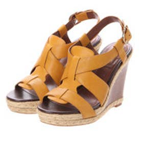 コール ハーン COLE HAAN BREECEY WEDGE (YELLOW/JUTE)