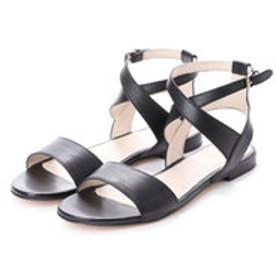 コール ハーン COLE HAAN FENLEY SANDAL (BLACK LEATHER)