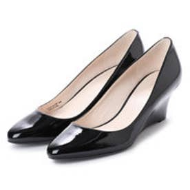 コール ハーン COLE HAAN LENA WEDGE WP  55 (BLACK PATENT)