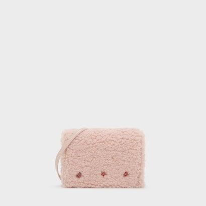 エンベリッシュド スリングバッグ / EMBELLISHED SLING BAG (Pink)