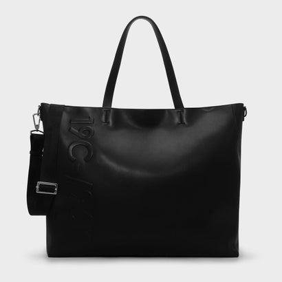 エンボストートバッグ / EMBOSSED TOTE BAG (Black)
