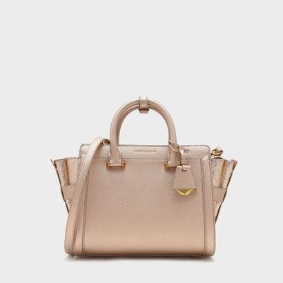ストラクチャードトラペーズバッグ / STRUCTURED TRAPEZE BAG (Rose Gold)