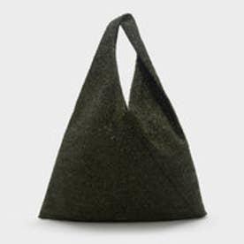 テクスチャードホーボーバッグ / TEXTURED HOBO BAG (Green)