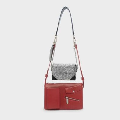 デュオショルダーバッグ / DOU SHOULDER BAG (Red)