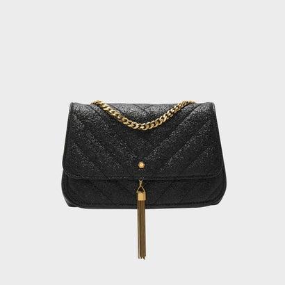 ドレッシー ショルダーバッグ / DRESSY SHOULDER BAG (Black)