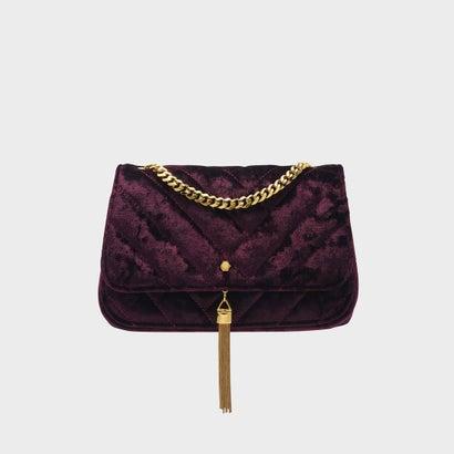 ドレッシーショルダーバッグ / DRESSY SHOULDER BAG (Burgundy)