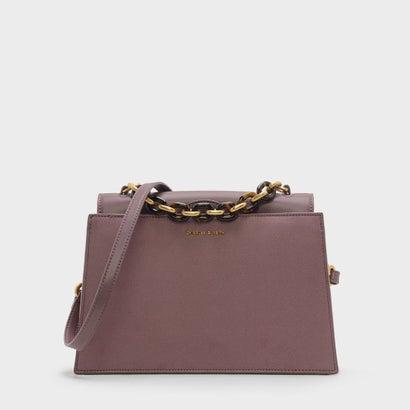 ドレッシーハンドバッグ / DRESSY HANDBAG (Purple)
