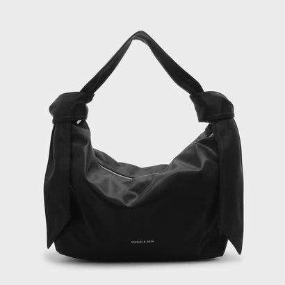 スラウチショルダーバッグ / SLOUCHY SHOULDER BAG (Black)