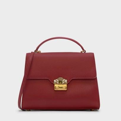 エンベリッシュバックルバッグ / EMBELLISHED BUCKLE BAG (Red)