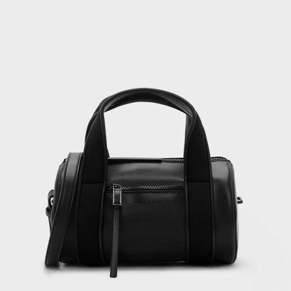 シリンドリカルダッフルバッグ / CYLINDRICAL DUFFEL BAG (Black)