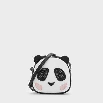 キッズパンダクロスボディバッグ / KIDS PANDA CROSSBODY BAG (White)