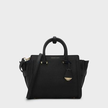 クラシック トラペーズ トートバッグ / CLASSIC TRAPEZE TOTE BAG (Black)
