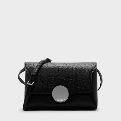 サーキュラーバックルスリングバッグ / CIRCULAR BUCKLE SLING BAG (Black)