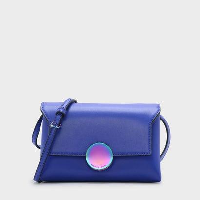 サーキュラーバックルスリングバッグ / CIRCULAR BUCKLE SLING BAG (Blue)