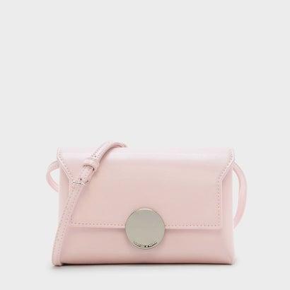 サーキュラーバックルスリングバッグ / CIRCULAR BUCKLE SLING BAG (Pink)