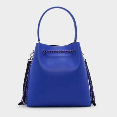 トップハンドル バケットバッグ / TOP HANDLE BUCKET BAG (Blue)