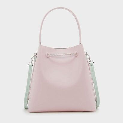 トップハンドル バケットバッグ / TOP HANDLE BUCKET BAG (Pink)