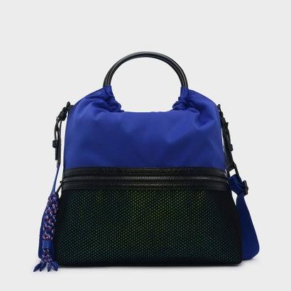メッシュディテールトートバッグ / MESH DETAIL TOTE BAG (Blue)
