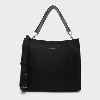 ホーボーショルダーバッグ / HOBO SHOULDER BAG (Black)