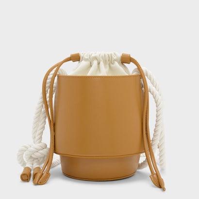 シリンドリカルドローストリングバッグ / CYLINDRICAL DRAWSTRING BAG (Mustard)