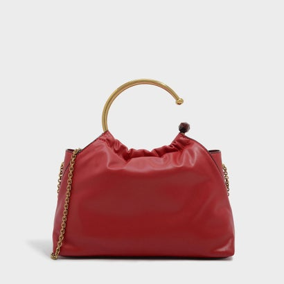サーキュラーハンドルバッグ / CIRCULAR HANDLE BAG (Red)