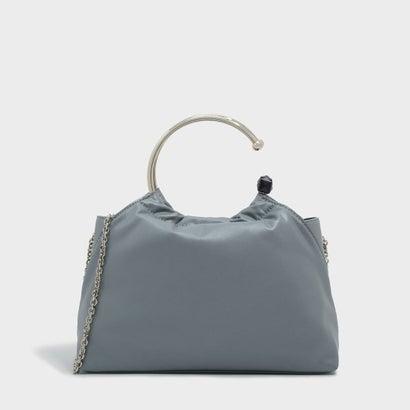 サーキュラーハンドルバッグ / CIRCULAR HANDLE BAG (Steel Blue)