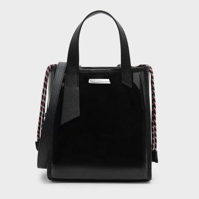 トップハンドルショルダーバッグ / TOP HANDLE SHOULDER BAG (Black)