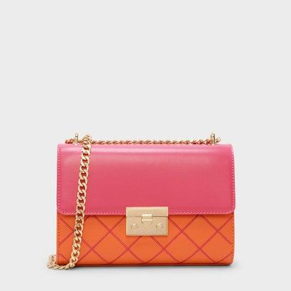 フロントフラッププッシュロックバッグ / FRONT FLAP PUSH-LOCK BAG (Orange)