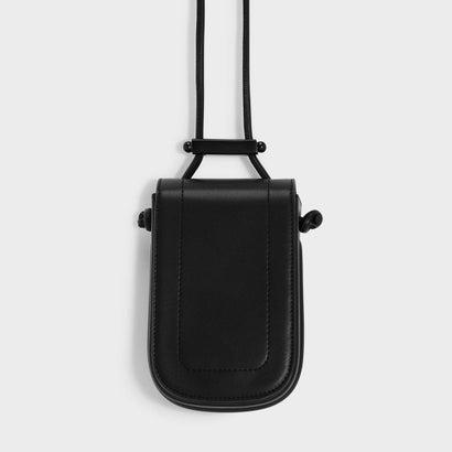 ドローストリングディテールスリングバッグ / DRAWSTRING DETAIL SLINGBAG (Black)