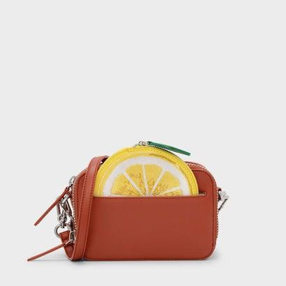 レモンポーチクロスボディバッグ / LEMON POUCH CROSSBODY BAG (Orange)