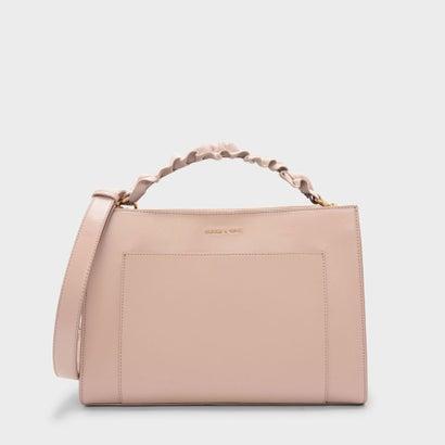 ラッフルハンドルバッグ / RUFFLE HANDLE BAG (Pink)