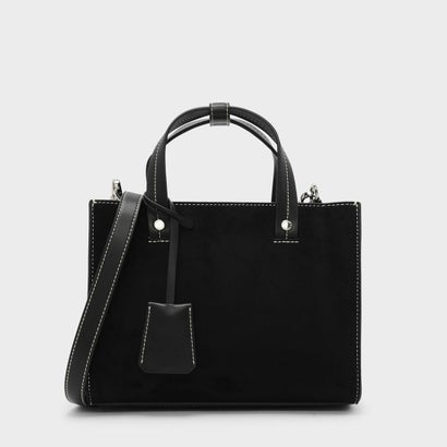 ストラクチャートップハンドルバッグ / STRUCTURED TOP HANDLE BAG (Black)