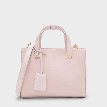 ストラクチャートップハンドルバッグ / STRUCTURED TOP HANDLE BAG (Blush)