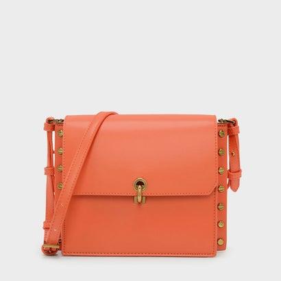 リバーシブルフラップクロスボディバッグ / REVERSIBLE FLAP CROSSBODY BAG (Orange)