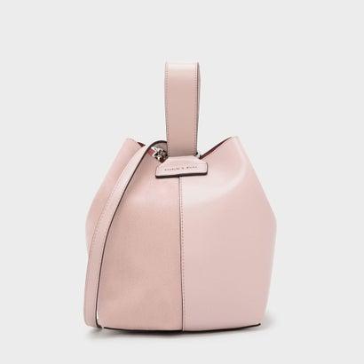 ループハンドル バケツバッグ / LOOP HANDLE BUCKET BAG (Blush)