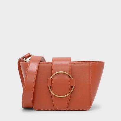 サーキュラーディテールクロスボディバッグ / CIRCULAR DETAIL CROSSBODY BAG (Orange)