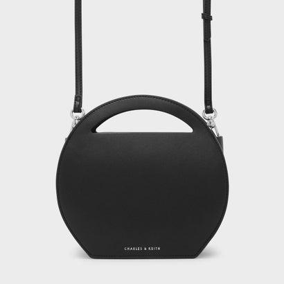 ラウンドクロスボディバッグ / ROUND CROSSBODY BAG (Black)
