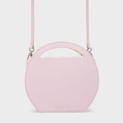 ラウンド クロスボディバッグ / ROUND CROSSBODY BAG (Pink)