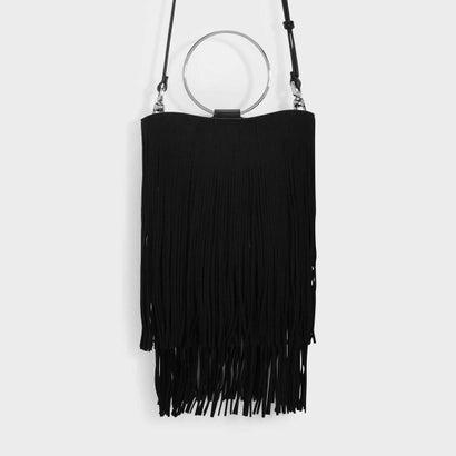 フリンジディテールバッグ / FRINGE DETAIL BAG (Black)