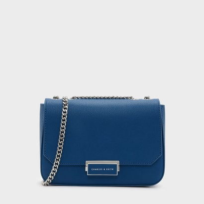 クラシックプッシュロッククロスボディバッグ / CLASSIC PUSH-LOCK CROSSBODY BAG (Blue)