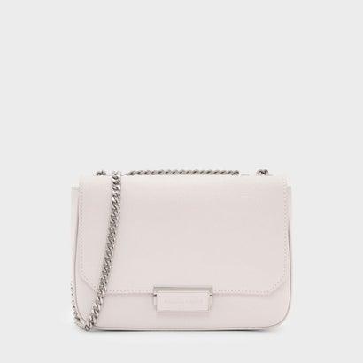 クラシック プッシュロック クロスボディバッグ / CLASSIC PUSH-LOCK CROSSBODY BAG (Light Pink)