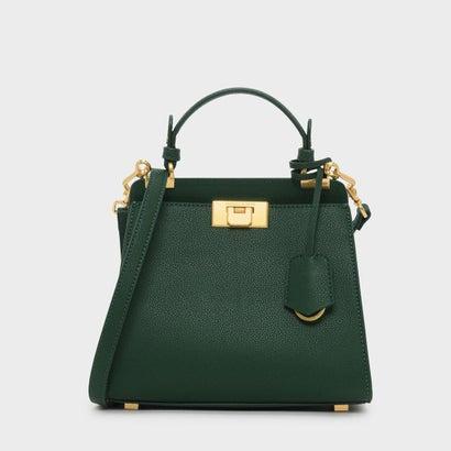 クラシックプッシュロックバッグ / CLASSIC PUSH-LOCK BAG (Dark Green)