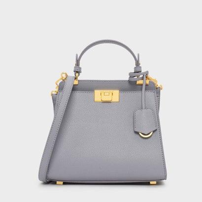 クラシックプッシュロックバッグ / CLASSIC PUSH-LOCK BAG (Lilac Grey)