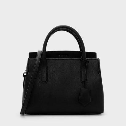 ストラクチャー トップハンドルバッグ / STRUCTURED TOP HANDLE BAG (Black)