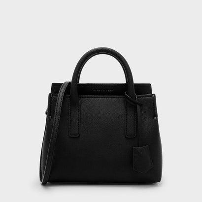 クラシック トップハンドルバッグ / CLASSIC TOP HANDLE BAG (Black)