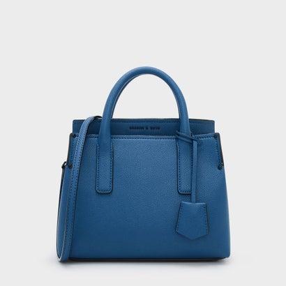 クラシックトップハンドルバッグ / CLASSIC TOP HANDLE BAG (Blue)