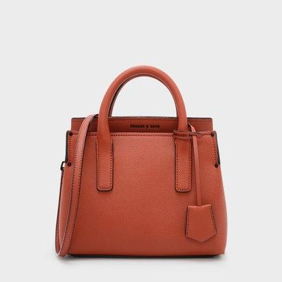 3945408e1031 CHARLES & KEITH クラシック トップハンドルバッグ / CLASSIC TOP HANDLE BAG (Brick)  -靴&ファッション通販 ロコンド〜自宅で試着、気軽に返品