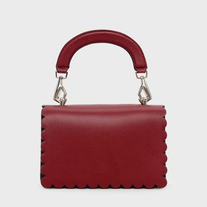 スカラップトリムクロスボディバッグ / SCALLOP TRIM CROSSBODY BAG (Red)