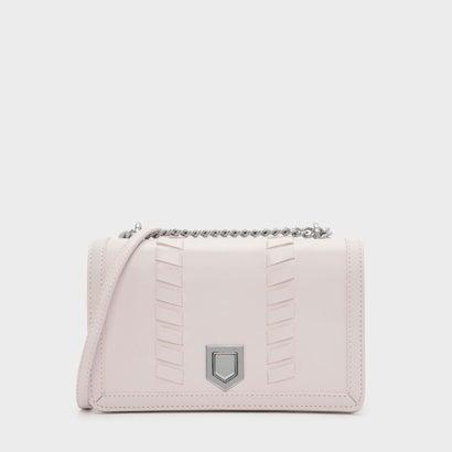 ウエーブディテールクロスボディバッグ / WEAVE DETAIL CROSSBODY BAG (Light Pink)