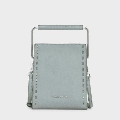 ステープラー エフェクト ストラクチャーバッグ / STAPLER EFFECT STRUCTURED BAG (Mint Green)